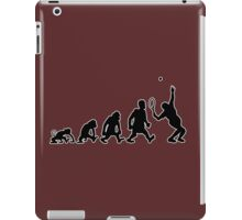 tennis sport darwin evolution iPad Case/Skin
