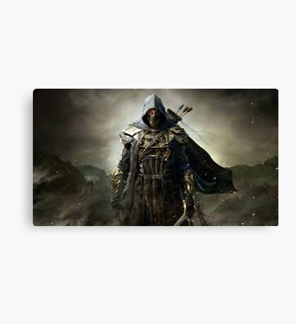 Elder Scrolls Canvas Print