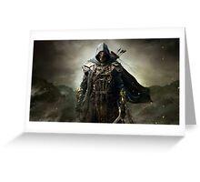 Elder Scrolls Greeting Card