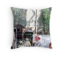 Antique Boutique Throw Pillow