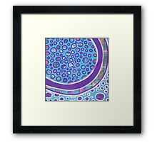 Water Healing: Inner Power Painting Framed Print