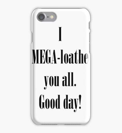 Coxism - Dr.Cox quote  iPhone Case/Skin