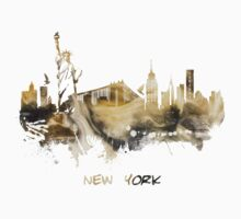 New York City skyline Kids Tee