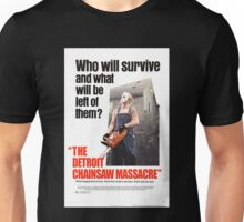 The Detoit Chainsaw Massacre Unisex T-Shirt