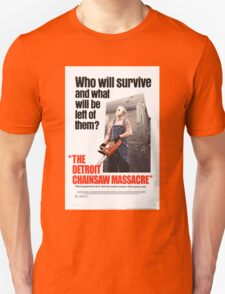 The Detoit Chainsaw Massacre Unisex T-Shirt