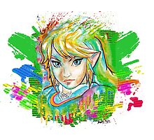 Epic Link Streetart Tshirts + More ' Legend of Zelda ' Jonny2may by Jonny2may