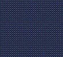 Blue Nautical Pattern by FantasyDesign