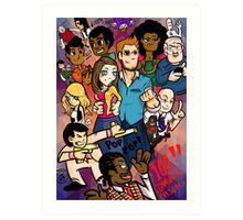 Community: 100 Episodes Art Print
