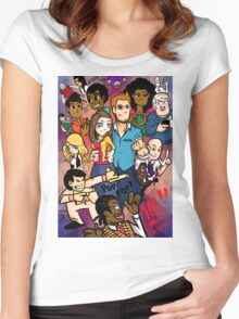 Community: 100 Episodes Women's Fitted Scoop T-Shirt