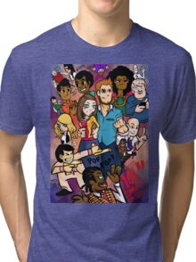 Community: 100 Episodes Tri-blend T-Shirt