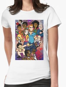 Community: 100 Episodes Womens Fitted T-Shirt
