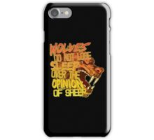 The Opinion of Sheep iPhone Case/Skin
