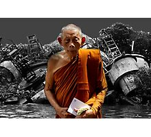 monk Photographic Print