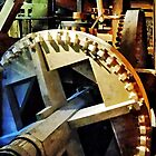 Gears in Grist Mill by Susan Savad