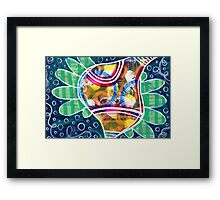 Divine Inspiration (wide version): Inner Power Paintings  Framed Print