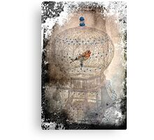 Bird in a gilded cage Canvas Print