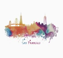 San Francisco City Skyline  Kids Clothes