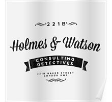 Holmes and Watson Consulting Poster