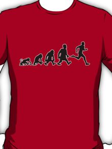 run running courir jogging T-Shirt
