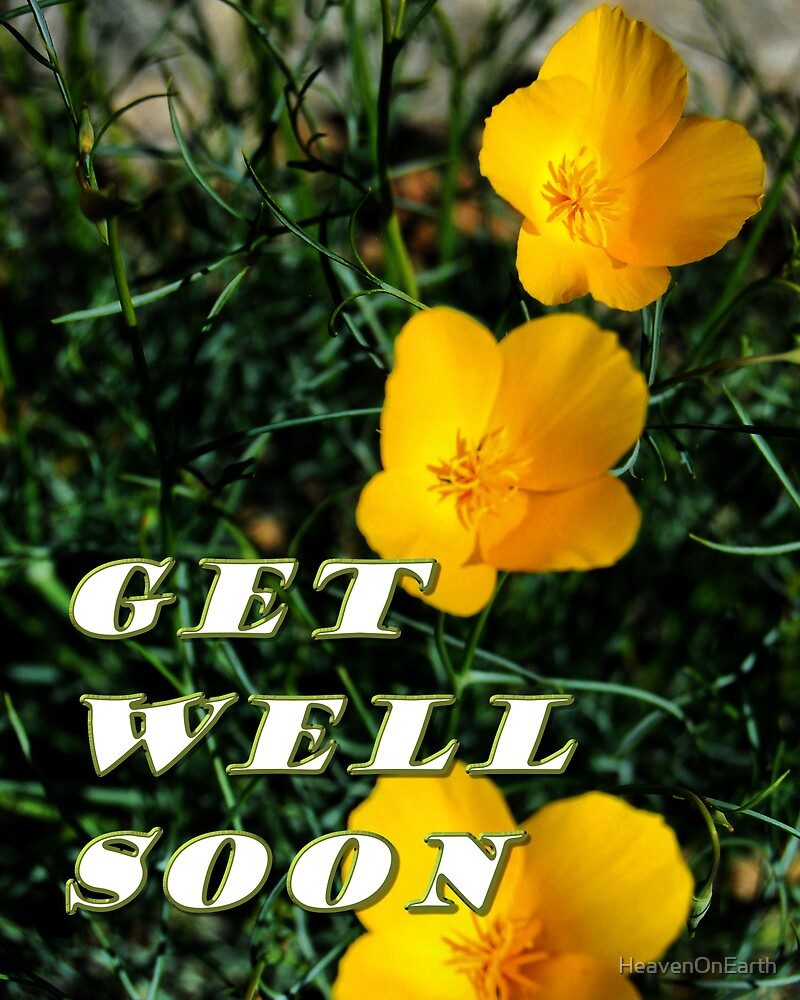 Get Well Soon by HeavenOnEarth