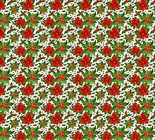 Poinsettia Pattern by FantasyDesign