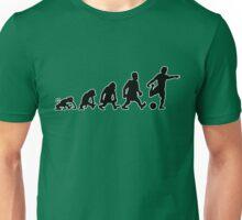 foot football soccer evolution darwin Unisex T-Shirt