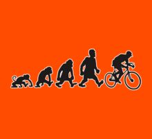 cyclist darwin cycling bike bicycle by huggymauve