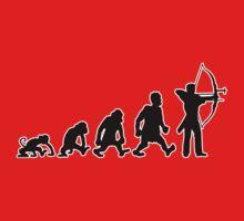 archery darwin evolution bow by huggymauve