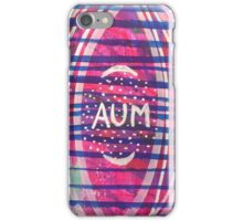 Aum & Stars (wide version): Inner Power Paintings iPhone Case/Skin