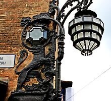 Bologna Street Lamp by Elena Skvortsova