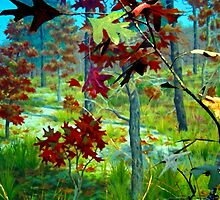 Turning Of The Leaves by Ellen  Price - Greenwald