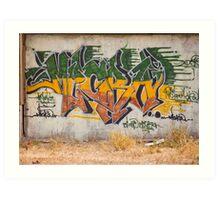 Graffitti Signed Art Print