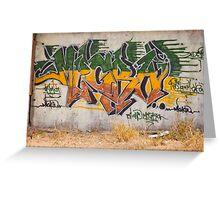 Graffitti Signed Greeting Card