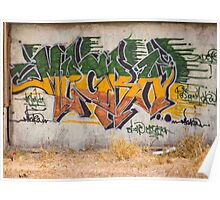Graffitti Signed Poster