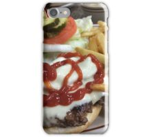 Bacon Cheeseburger  iPhone Case/Skin