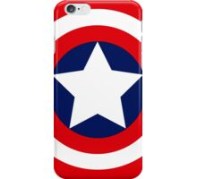 captain´s america logo iPhone Case/Skin