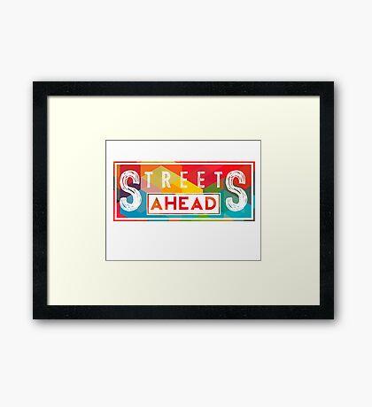 Community: Streets Ahead Framed Print