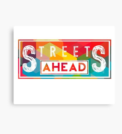 Community: Streets Ahead Canvas Print