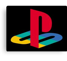 Original Playstation Logo Canvas Print