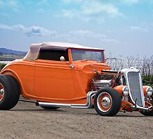 1934 Ford Cabriolet by DaveKoontz