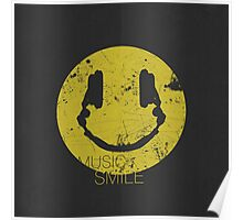 Music Smile Poster