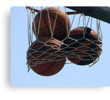 HOOPS IN VENICE 4 Canvas Print