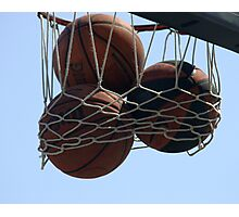 HOOPS IN VENICE 4 Photographic Print
