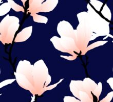 magnolia midnight Sticker