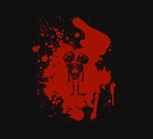 2-headed skeleton kid in red Womens Fitted T-Shirt