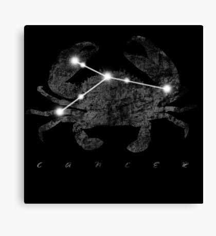 Cancer Constellation Sign  Canvas Print