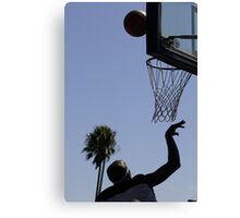HOOPS IN VENICE 7 Canvas Print