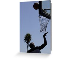 HOOPS IN VENICE 7 Greeting Card