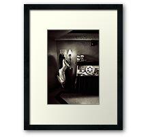 Lamped Framed Print