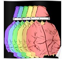 Death Grips Rainbow Poster